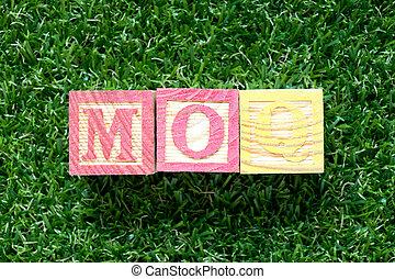 bois, mot, quantity), couleur, (abbreviation, moq,...