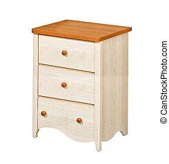 bois, nightstand