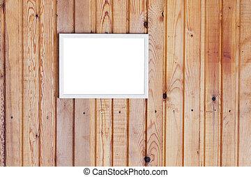 bois,  Photo, cadre, mur