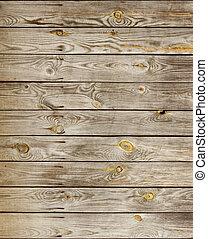 bois, planches, texture