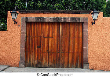 Garage maison gris deux doors am ricain doors for Garage opel rosny sous bois