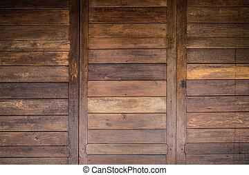 bois, porte, texture, fond, grange