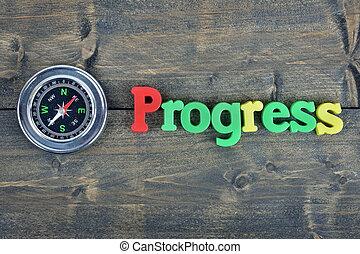 bois, progrès, table