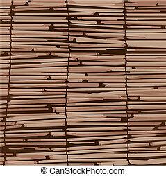 bois, rideaux, organique, material., texture