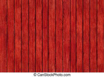 bois rouge, panneaux, conception, texture, fond