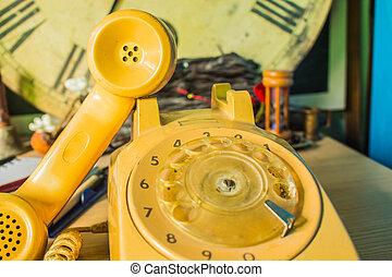 bois, téléphone