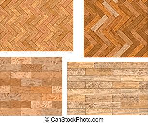 bois, textures, ensemble