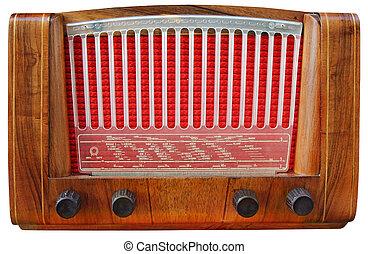 bois, tuner, radio