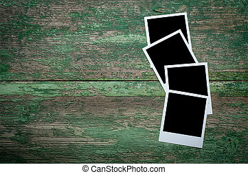 bois, vendange, photo, table, vide