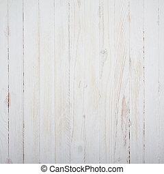 bois, vendange, sommet, fond, table, blanc, vue