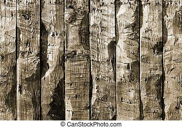 bois, vieux, fond