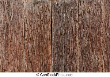bois, vieux, mur, grunge, texture