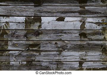 bois, vieux, planches