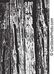 bois, voile de surface