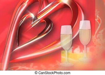 boisson, amour