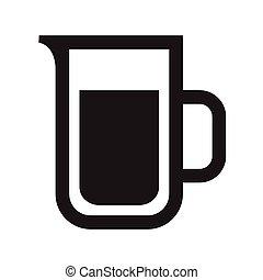 boisson, boisson, alcool, icônes