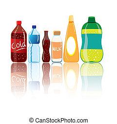 boisson, bouteilles