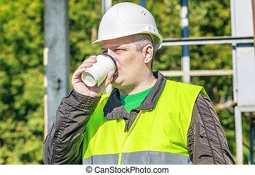 boisson café, électricien, ingénieur