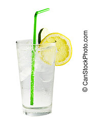 boisson, closeup, cocktail, chaux
