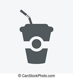 boisson, icône