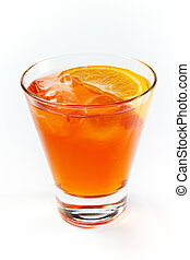 boisson orange, cocktail