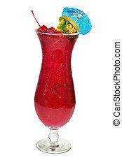 boisson, ouragan, isolé