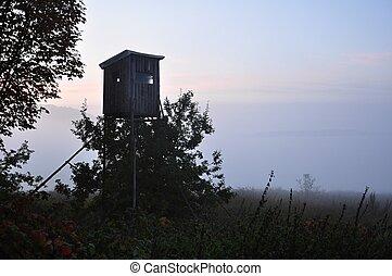 bojiště, věž, honba