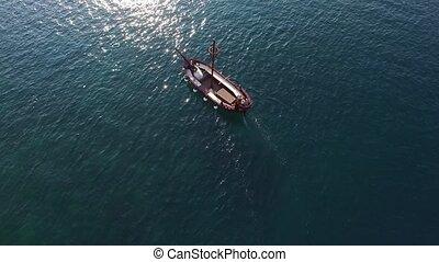 Boka Kotorska gulf of Kotor with two islands Gospa od...