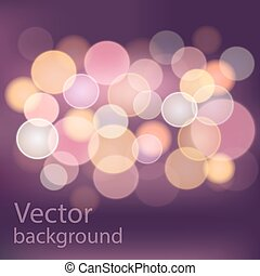 boke background - Perfect boke background made in vector eps...