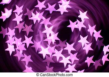 bokeh, étoiles