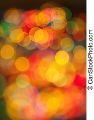 bokeh, רקע, של, christmaslight