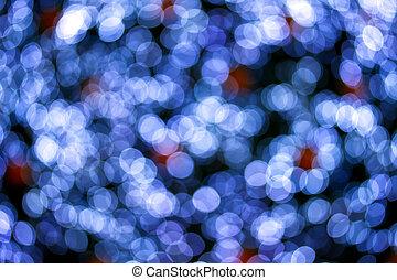 bokeh, רקע, christmaslight