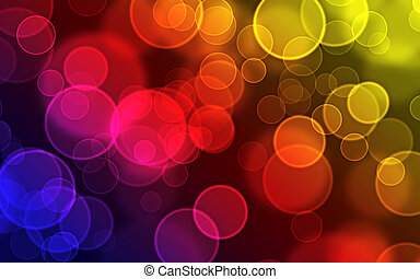 Bokeh Blur background design