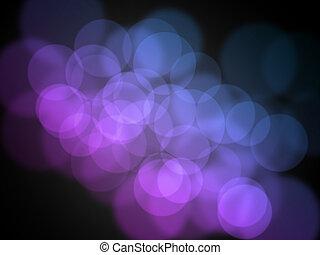 bokeh, abstract, achtergronden, licht