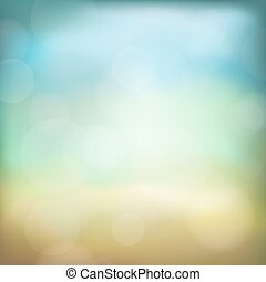 Bokeh abstract background with blur effects