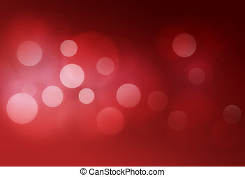 bokeh abstract backgrounds - Red bokeh abstract glow light...