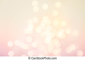 Bokeh Abstract Christmas background with glowing magic...