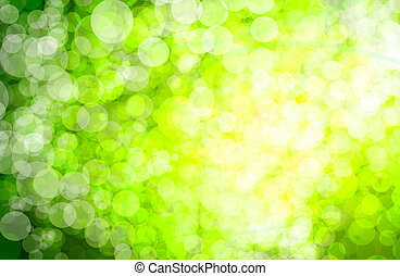 bokeh, achtergrond, abstract