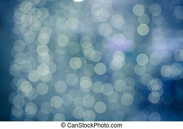 Bokeh background bokeh, blue bokeh abstract light