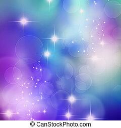 bokeh blurred lights background