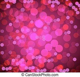 Bokeh Blurry Lights Background
