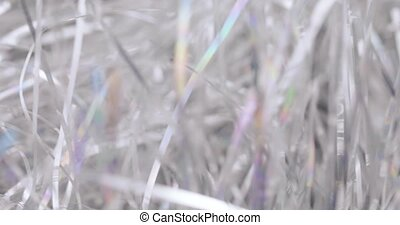 Bokeh Christmas tinsel
