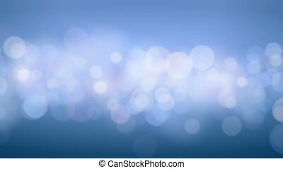 Bokeh Circles Moving in Seamless Background Animation....