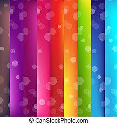 bokeh, coloré, fond