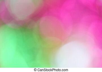 bokeh, coloré