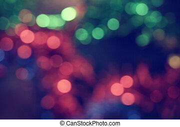 bokeh, coloré