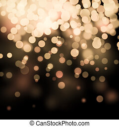 bokeh Festive background