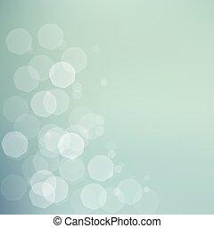bokeh, fondo, verde blu, jentle