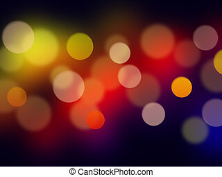 bokeh, fundos, abstratos
