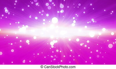 bokeh glow background magenta